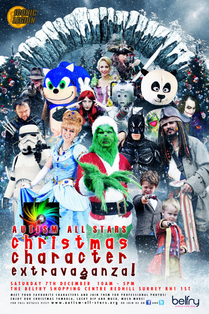 Autism All Stars Christmas Character Extravaganza