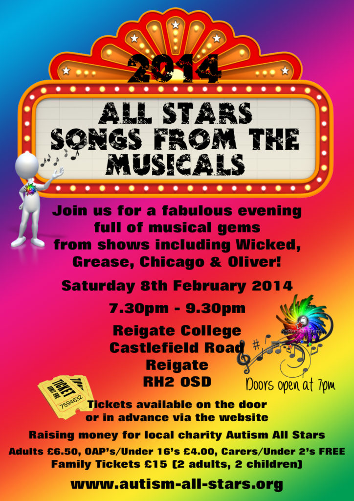 Songs from the Musicals Poster2014 copy
