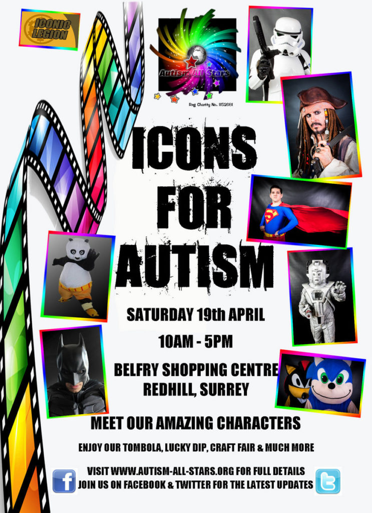 Icons for Autism April 2014
