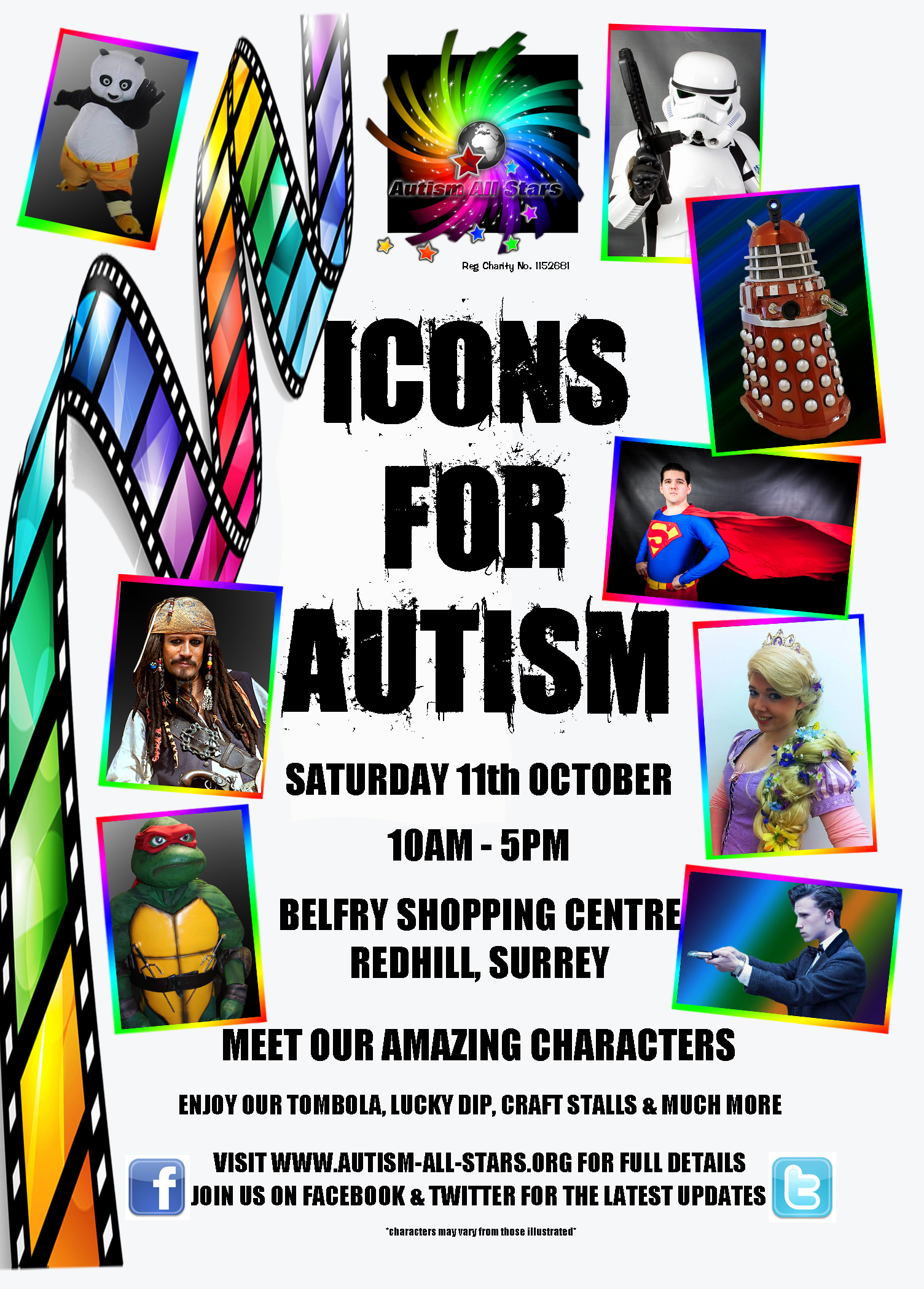 Icons for Autism October 2014