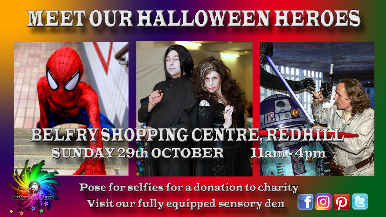 Halloween Heroes Poster