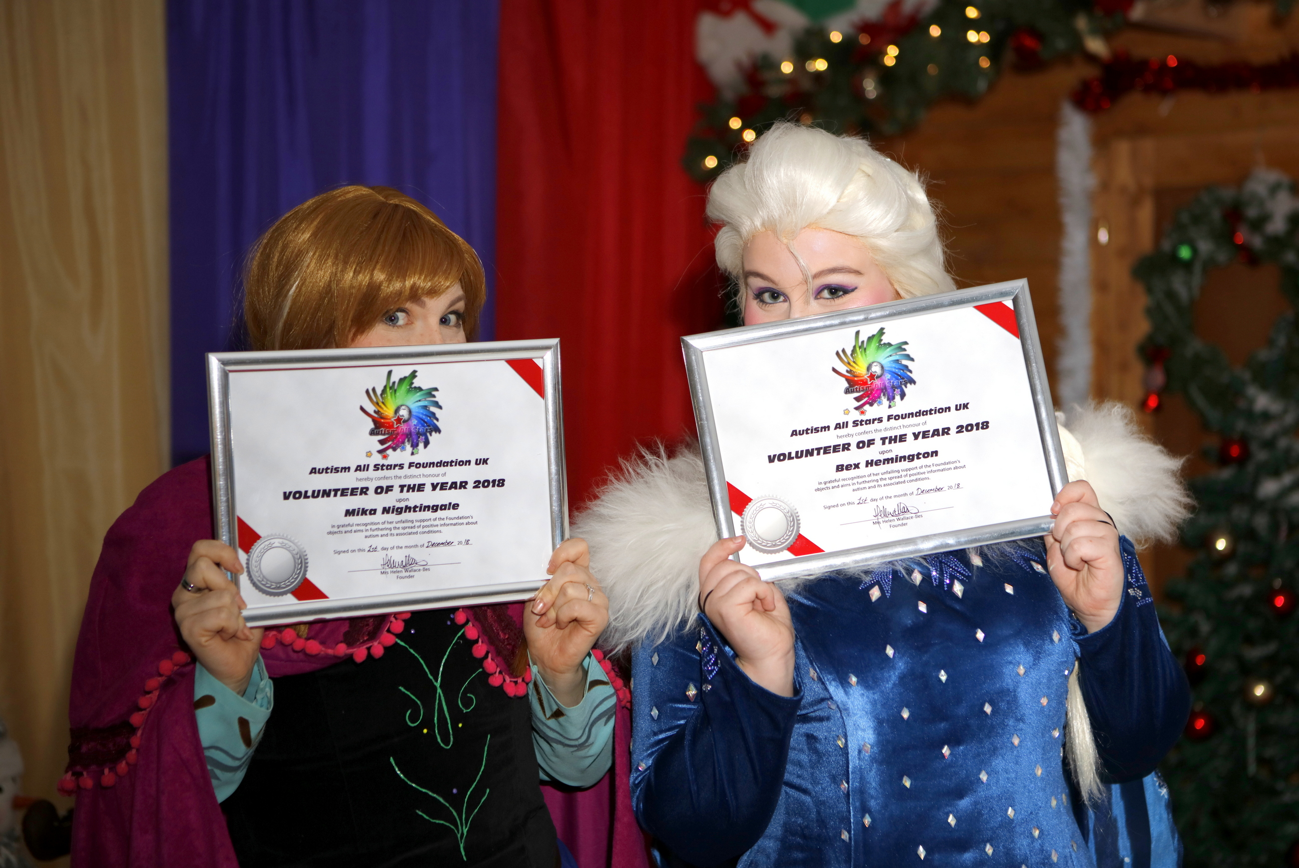 autism, aspergers, autism all stars, volunteer of the year, bex hemington, mika nightingale, surrey, uk