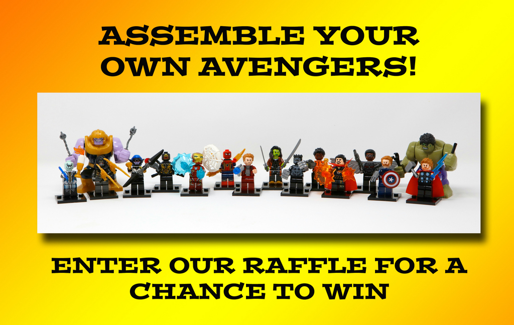 Aspergers, autism, Autism All Stars, autism awareness, charity, diversity, surrey, sussex, south east, mini figures, raffle, avengers, fundraising