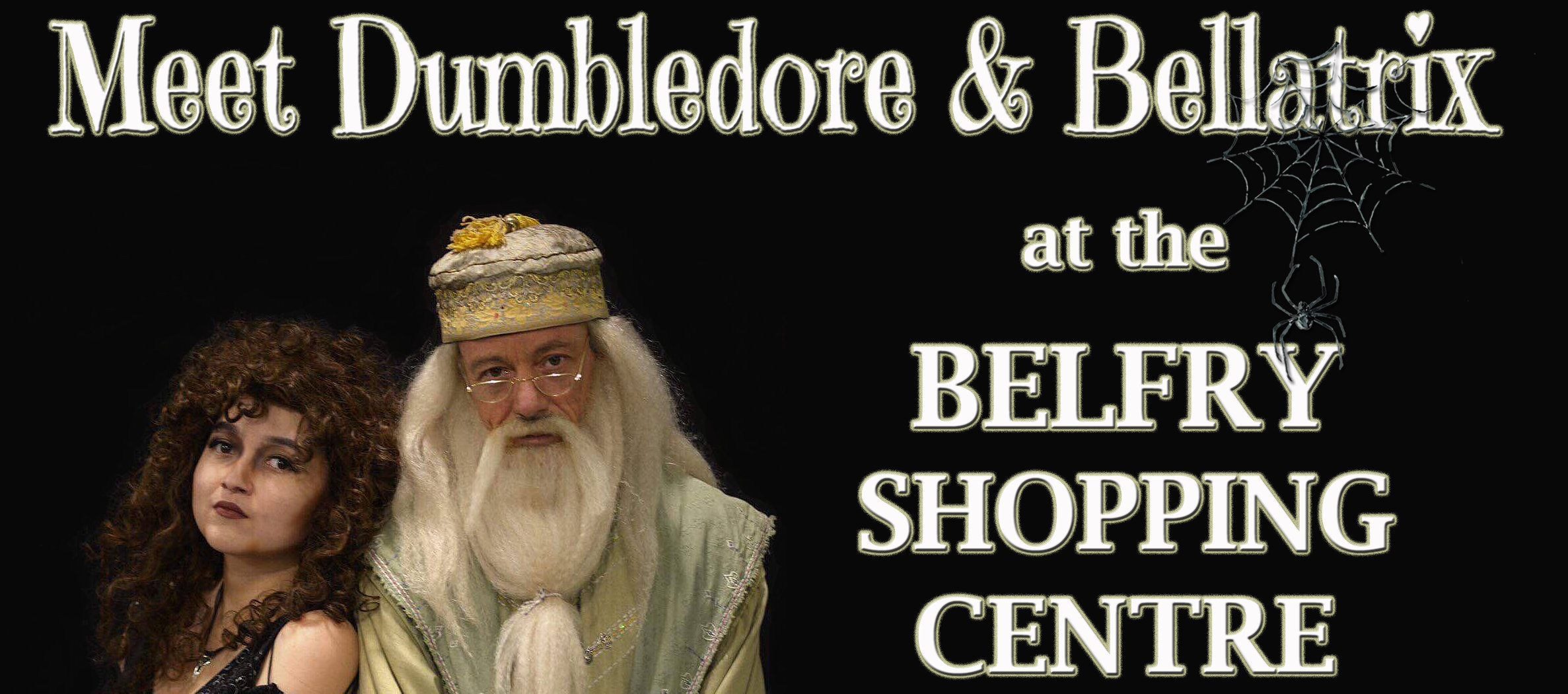 Aspergers, autism, disability, diversity, parenting, special needs, autism awareness, autism acceptance, autism parents, events, autism-friendly, redhill, surrey, belfry shopping centre, Autism All Stars, Dumbledore, Bellatrix, Harry Potter, Halloween, characters, cosplay