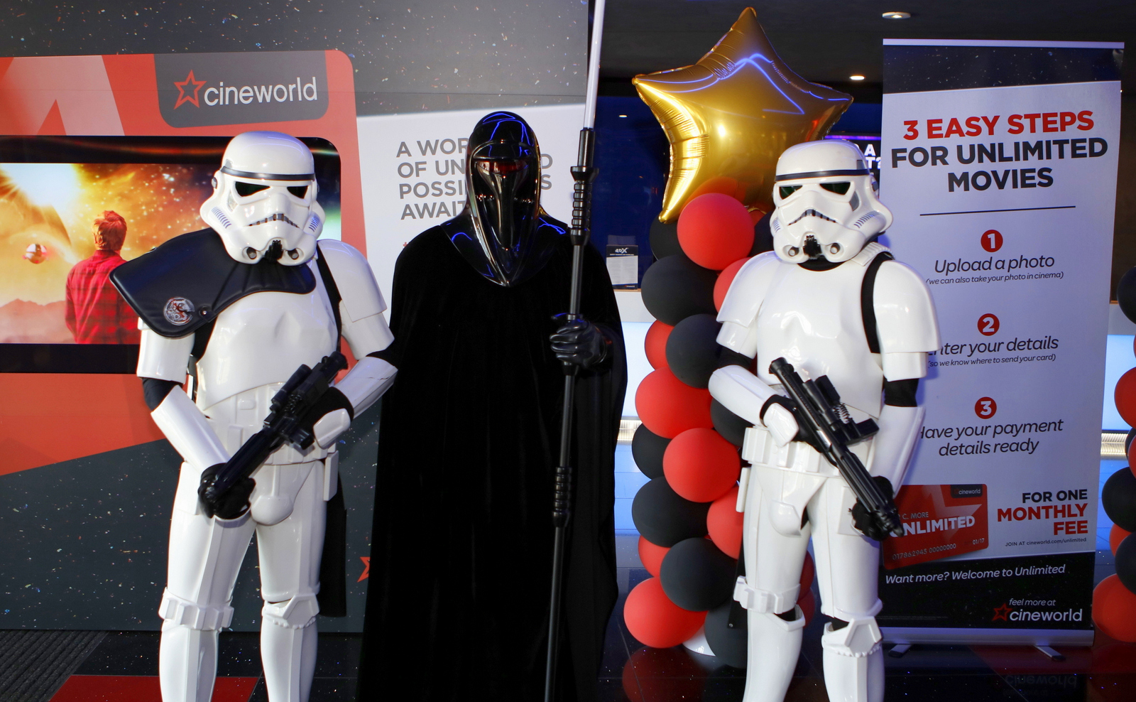 Aspergers, autism, Autism All Stars, autism awareness, characters, charity, cinema, Cineworld, cosplay, diversity, events, sussex, crawley, west sussex, Star Wars, Skywalker, Cosplay