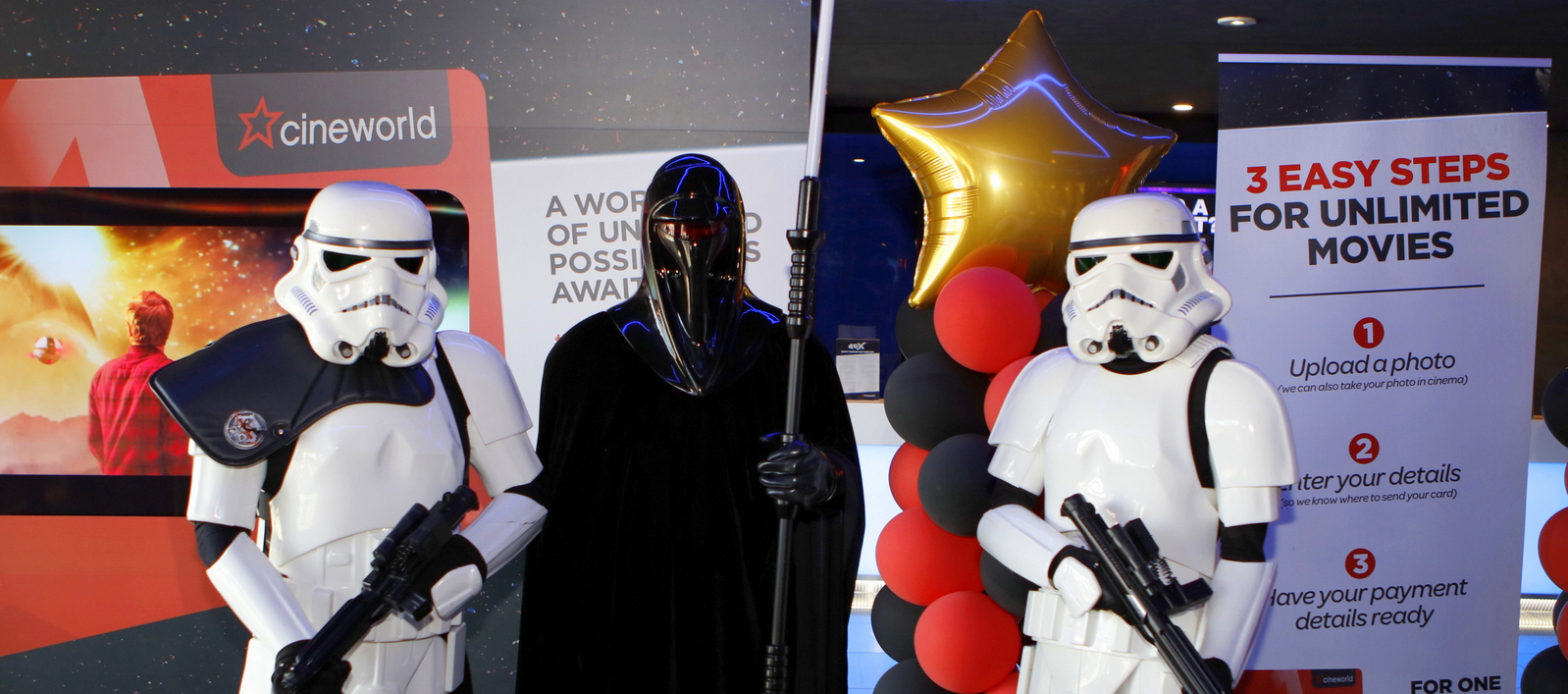 Aspergers, autism, Autism All Stars, autism awareness, characters, charity, cinema, Cineworld, cosplay, diversity, events, sussex, crawley, west sussex, Star Wars, Skywalker,