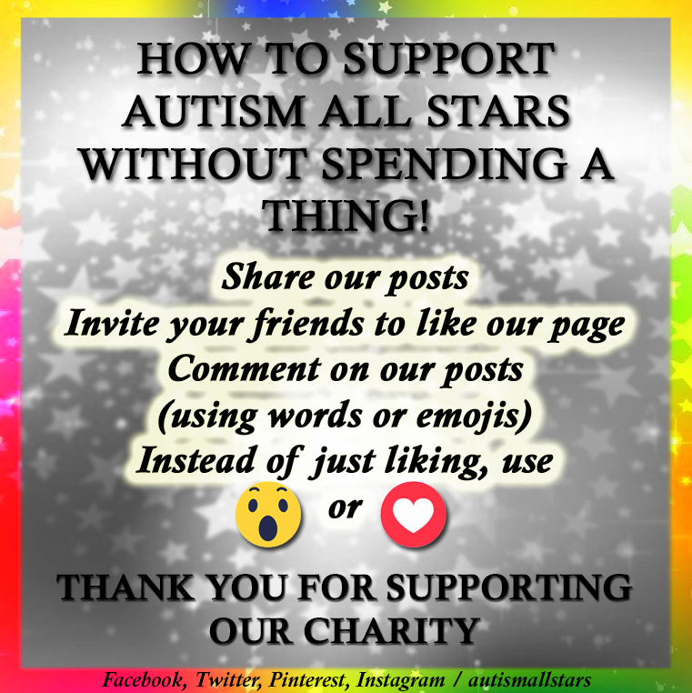 Aspergers, Autism, Autism All Stars, autism awareness, fundraising, charity, neurodiversity, Surrey, Sussex, autism acceptance, actually autistic, donate, fundraiser, teamwork, support autism, Instagram, social media, spread the word, join our team, Facebook,